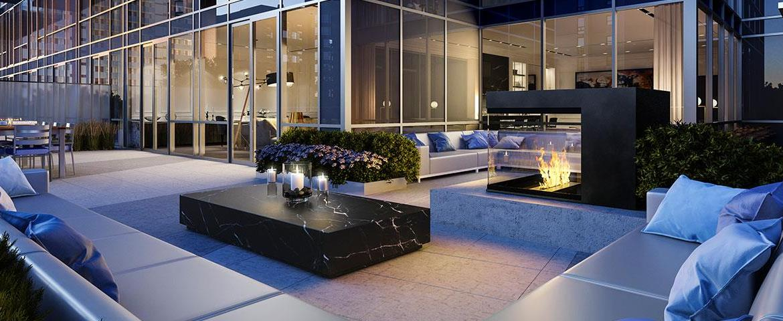 The Jack Condos Terrace Lounge Toronto, Canada