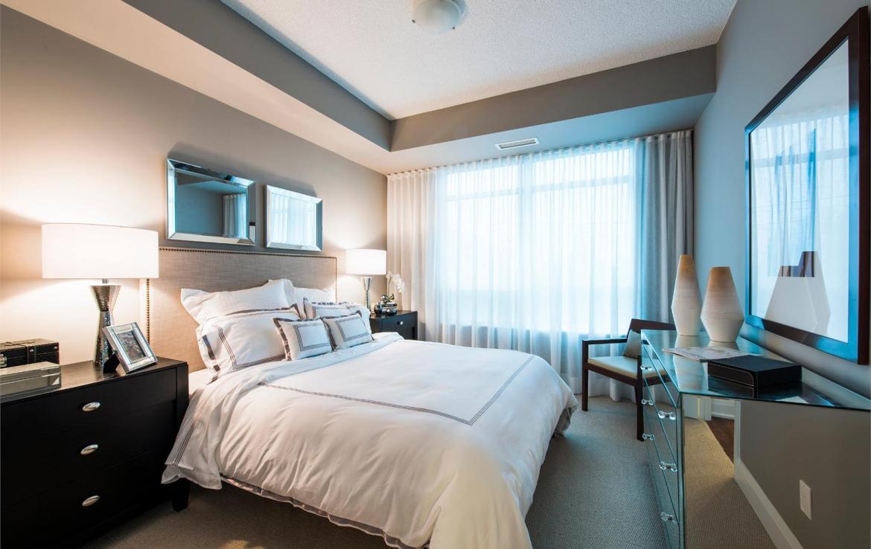 Perspective 2 Condos Bedroom Toronto, Canada