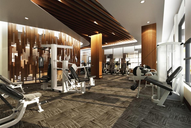 The Eglinton Condos Gym Toronto, Canada