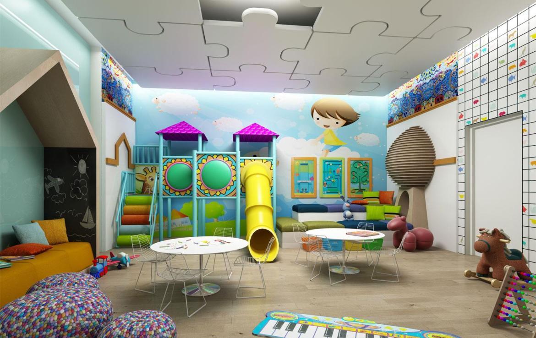 The Eglinton Condos Children Room Toronto, Canada