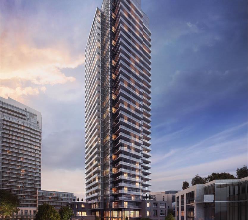 The Park Club Condos Building View Toronto, Canada