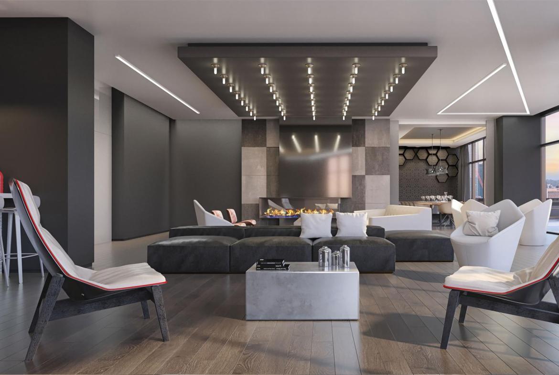 159SW Condos Wine Lounge Toronto, Canada
