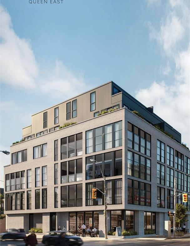 1001 Queen East Condos Street View Toronto, Canada