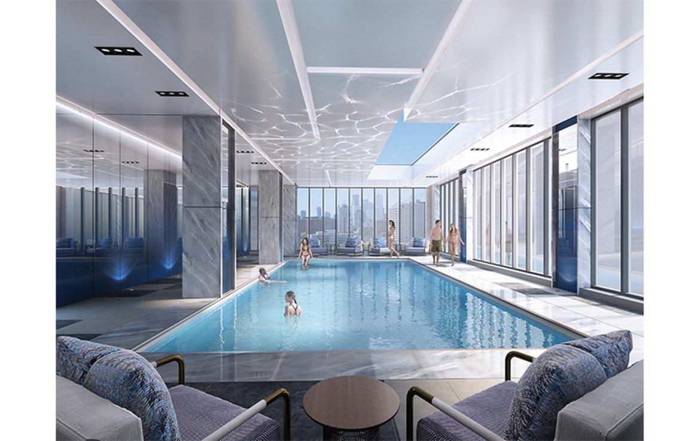 Skywatch Condos Swimming Pool Toronto, Canada