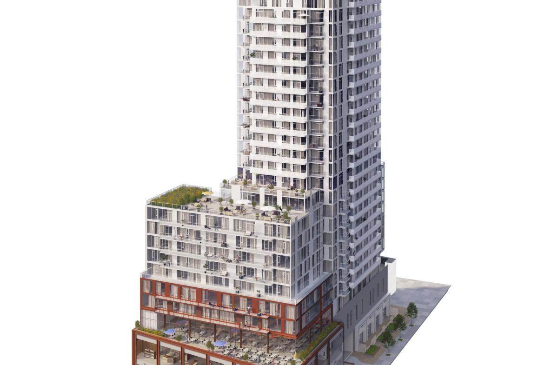Whitehaus Condos Building View Toronto, Canada