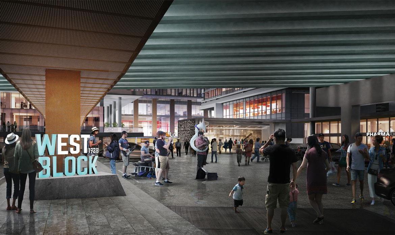 CityPlace Lakeshore Condos Courtyard Toronto, Canada