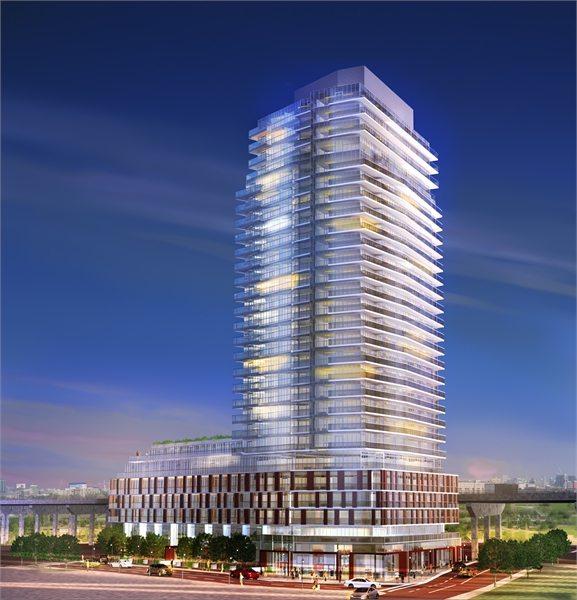 The Yards Condos Building View Toronto, Canada
