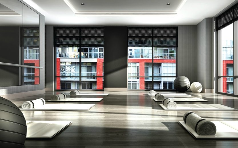Studio 2 Condos Yoga Studio Toronto, Canada