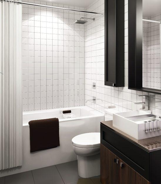 B Streets Condos Bathroom Toronto, Canada
