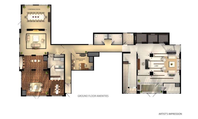 Grande Mirage Condos Property Plan Toronto, Canada