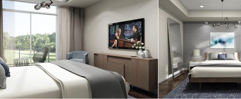 Jazz Condos Bedroom Toronto, Canada