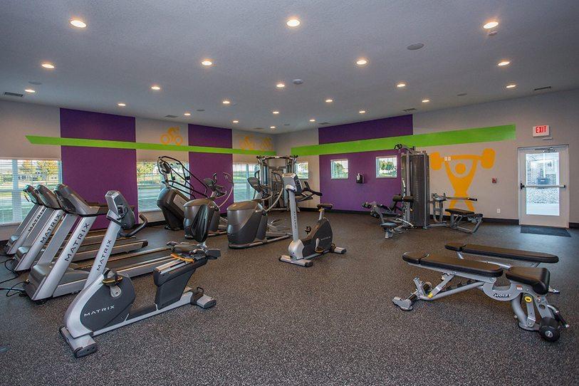 Aspire Condos Gym Toronto, Canada