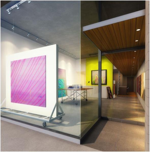 ART Condos Interior Toronto, Canada