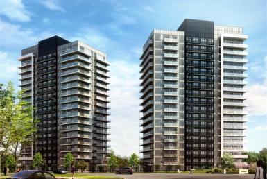 DT Erin Mills 2 Condos Building View Toronto, Canada