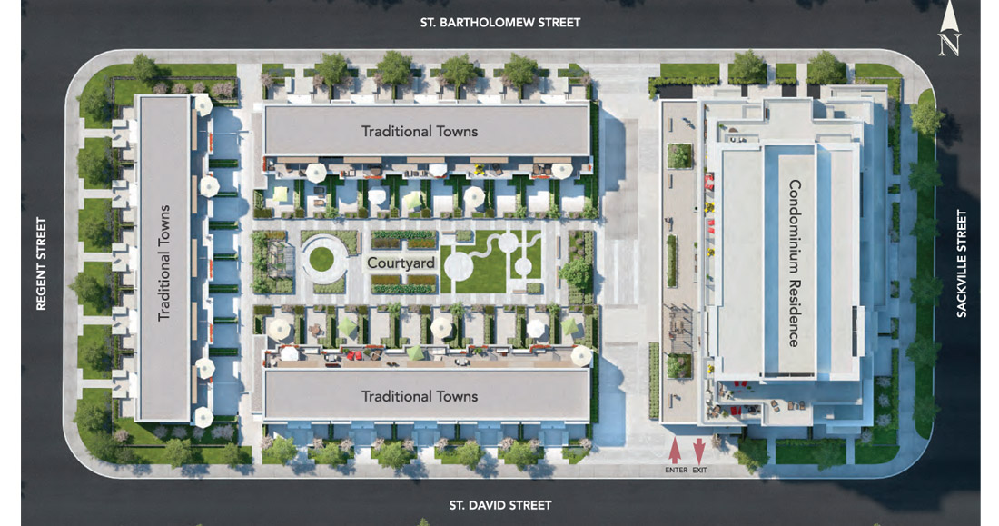 The Bartholomew Condos Property Plan Toronto, Canada