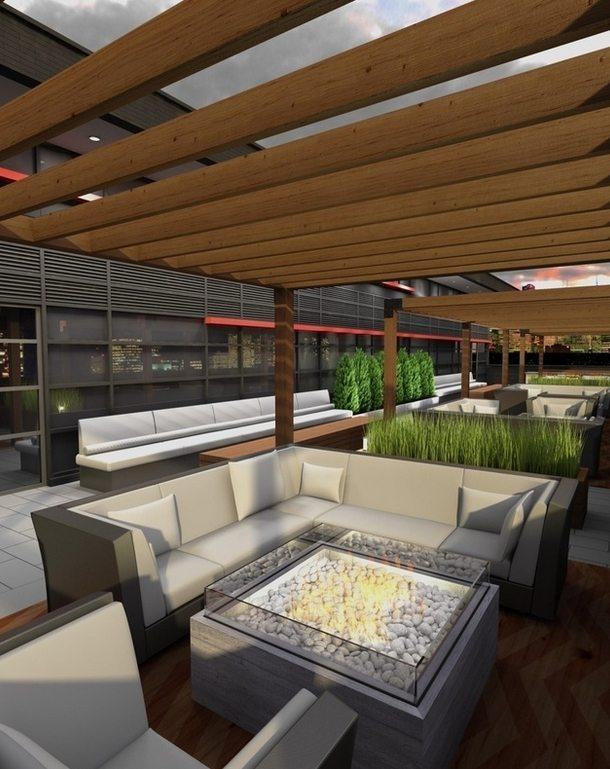 The Dragon Condos Terrace Lounge Toronto, Canada