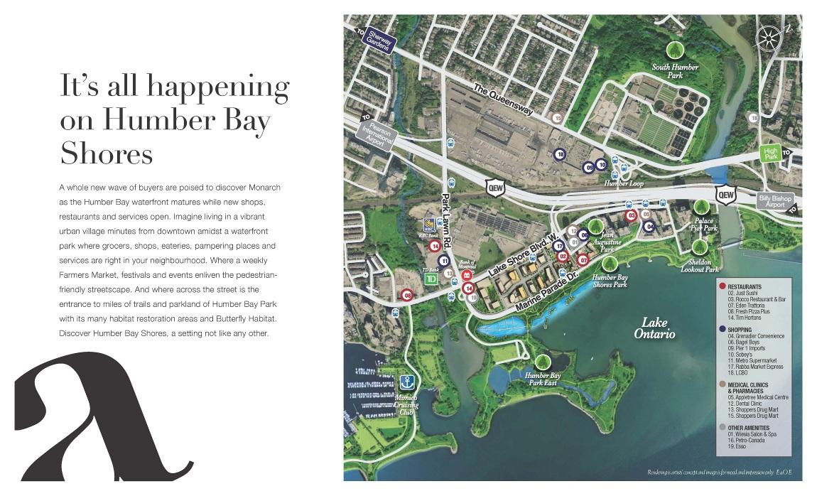 Riva del Lago Condos Map View Toronto, Canada