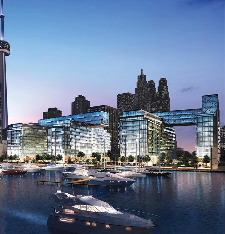 Pier 27 Condos Building View Toronto, Canada