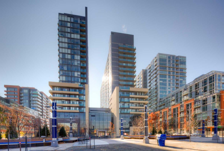 Edge Condos Building View Toronto, Canada