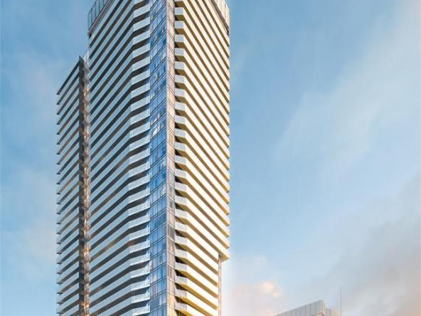 Daniels City Centre Condos Building View Toronto, Canada