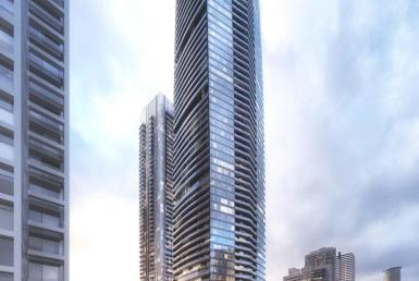 One Yonge Condos Building View Toronto, Canada