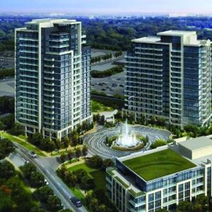 Rendering of The Fountains Condos in Vaughan