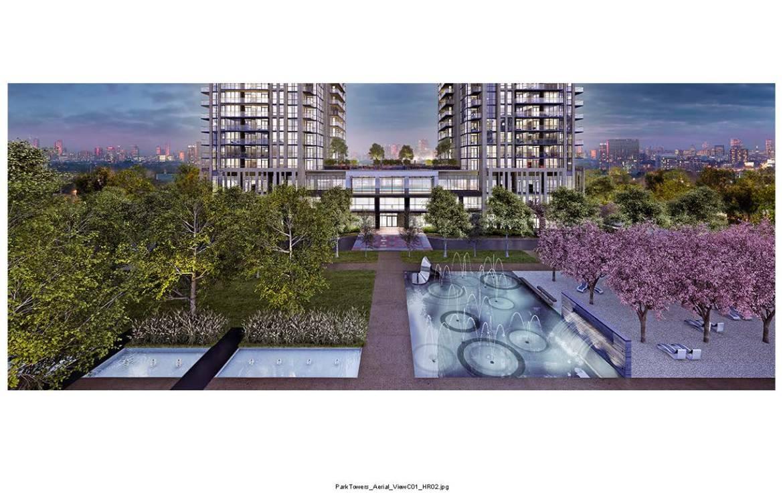 Park Towers at IQ Condos Garden View Toronto, Canada