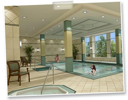 Centre Park Condos Indoor Pool Toronto, Canada