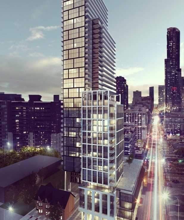 The Clover Condos Building View Toronto, Canada