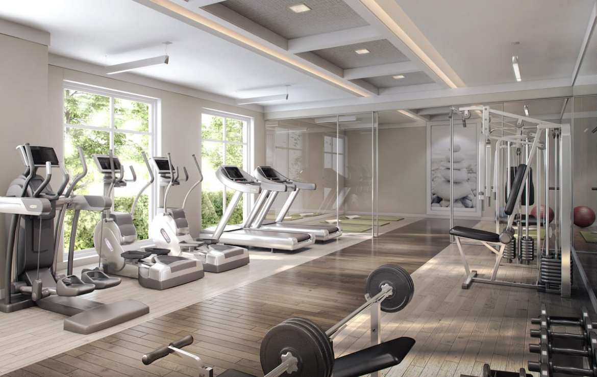 Craftsman Condos Building Gym