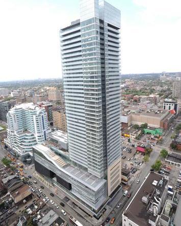 Festival Tower Condos Aerial View Toronto, Canada