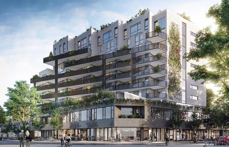 The Plant Condos Building View Toronto, Canada