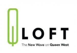 Logo of Q Lofts in Toronto