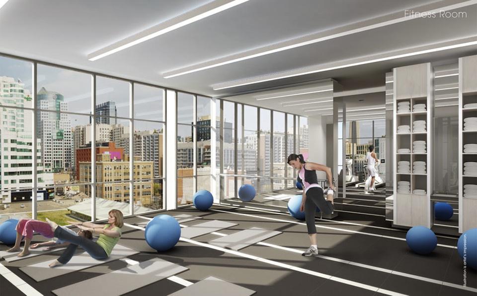 Charlie Condos Fitness Center Toronto, Canada