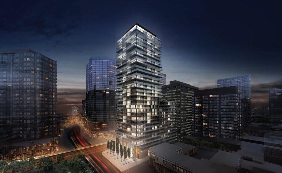1Thousand Bay Condos Building View Toronto, Canada