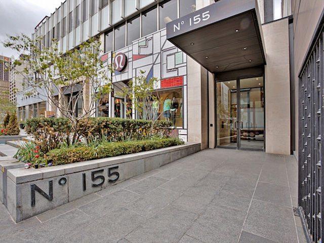 155 Cumberland Condos Entrance Toronto, Canada