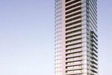 18 Yorkville Condos Building View Toronto, Canada