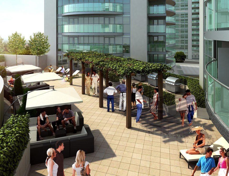 2150 Condos Sunbath Toronto, Canada
