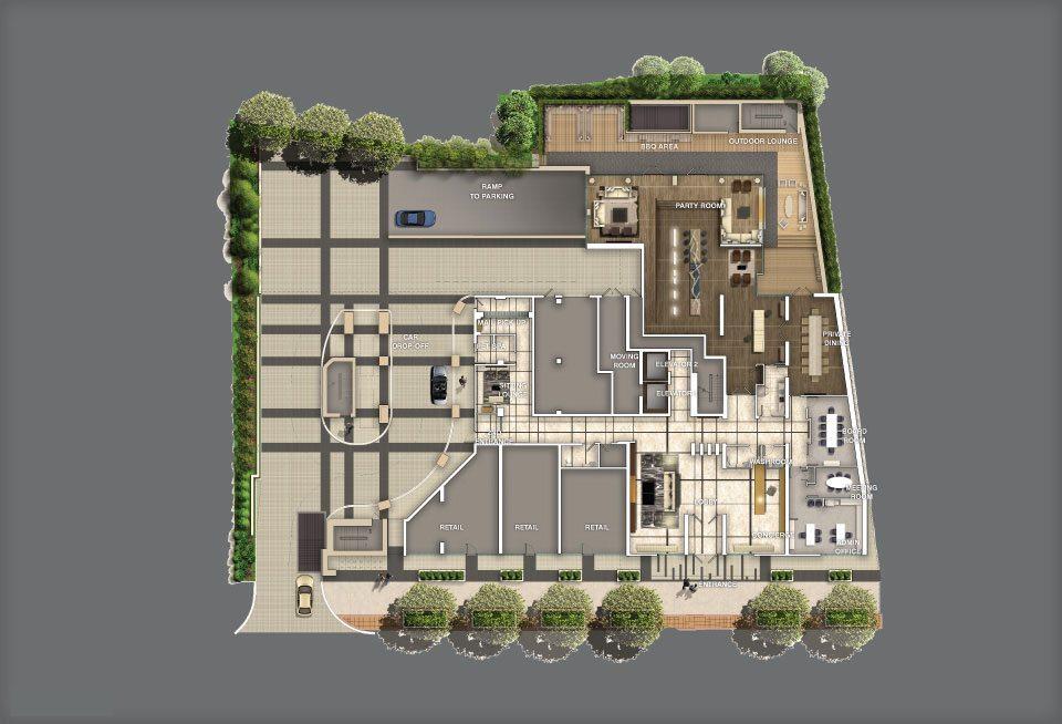 3018 Yonge Condos Plan View Toronto, Canada