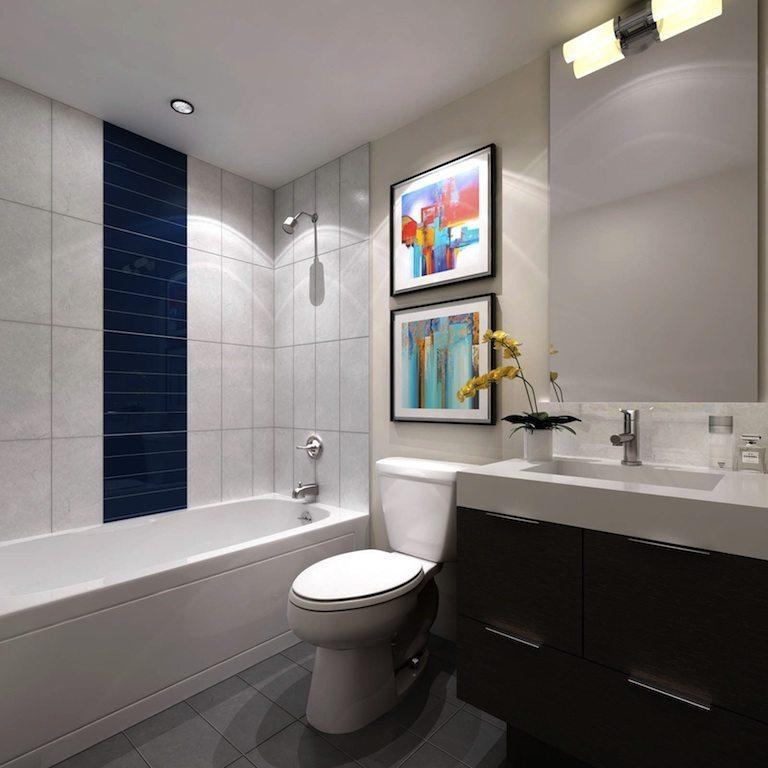 365 Church Condos Bathroom Toronto, Canada