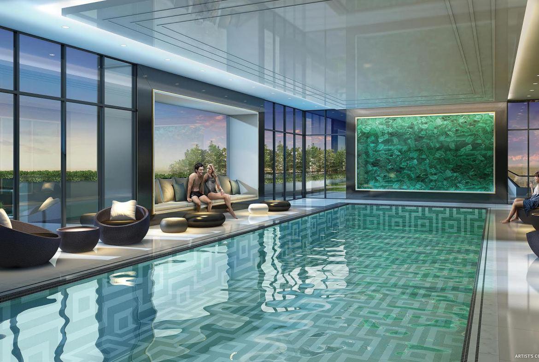 5959 Yonge Condos Swimming Pool Toronto, Canada