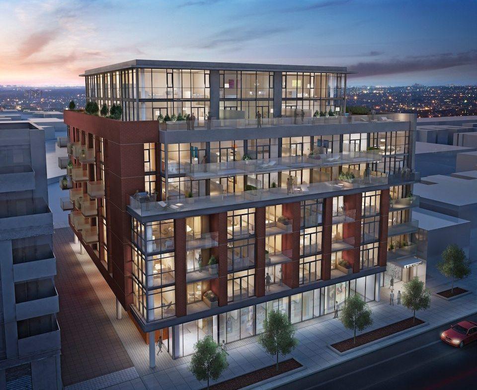 8 Gladstone Condos Building View Toronto, Canada