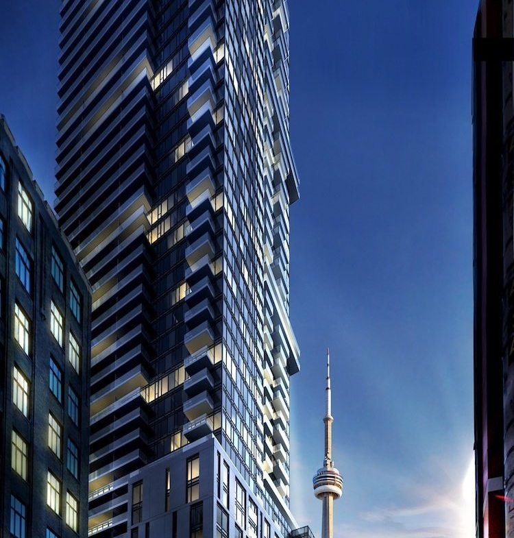 87 Peter Condos Night View Toronto, Canada