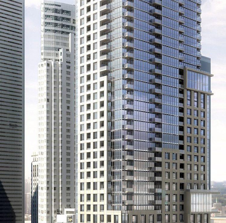 88 Scott Condos Building View Toronto, Canada
