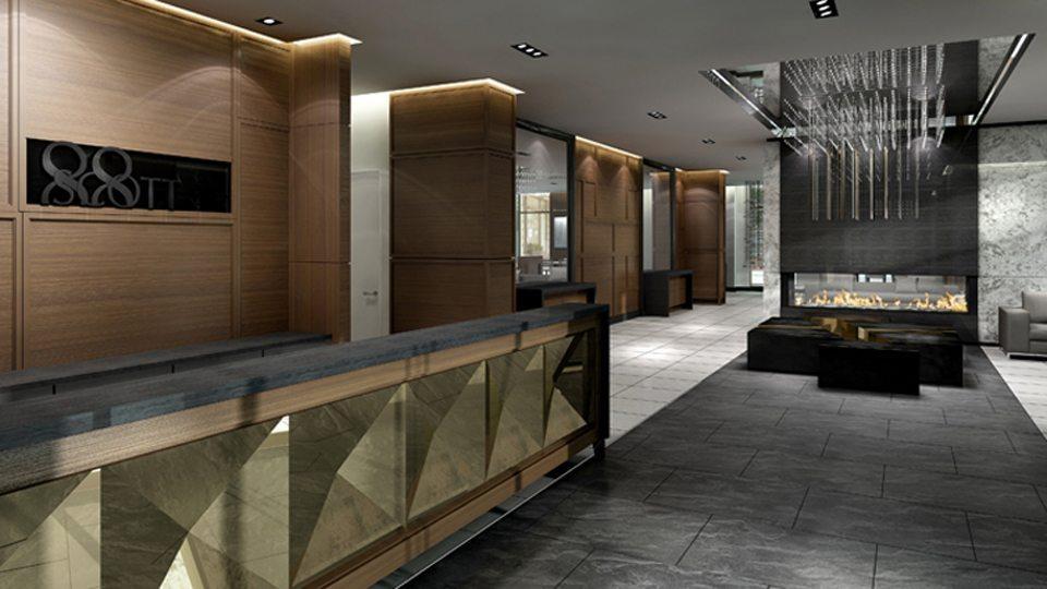 88 Scott Condos Concierge Toronto, Canada