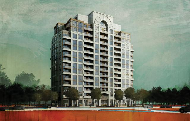 ArtHouse Condos Building View Toronto, Canada
