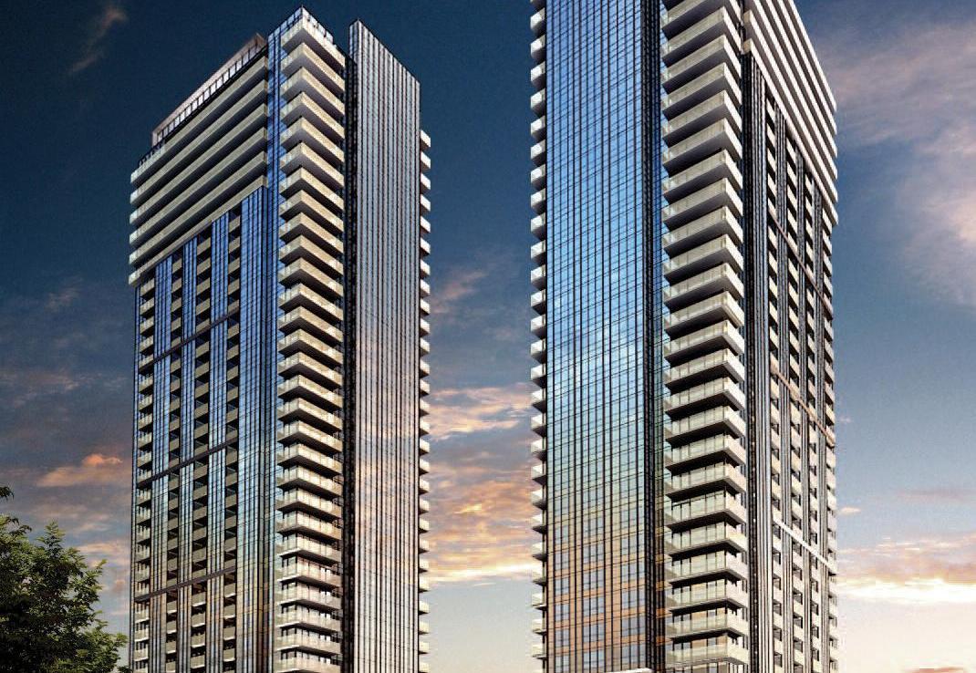 Avani and Avani2 at Metrogate Condos Building View Toronto, Canada