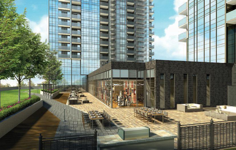 Avani and Avani2 at Metrogate Condos Exterior Toronto, Canada
