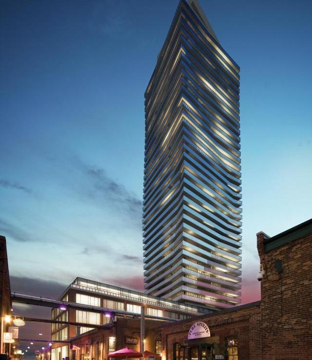 Clear Spirit Condos Building View Toronto, Canada