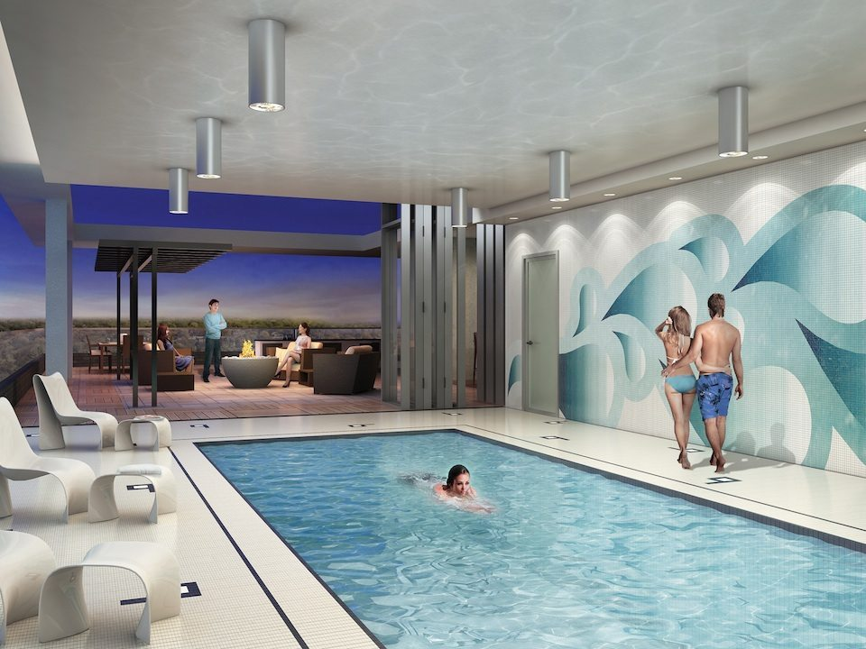 Cloud9 Condominiums Swimming Pool Toronto, Canada